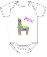 Sample baby-onesie